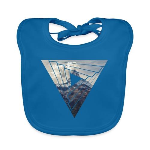 Matterhorn Zermatt Dreieck Design - Baby Bio-Lätzchen