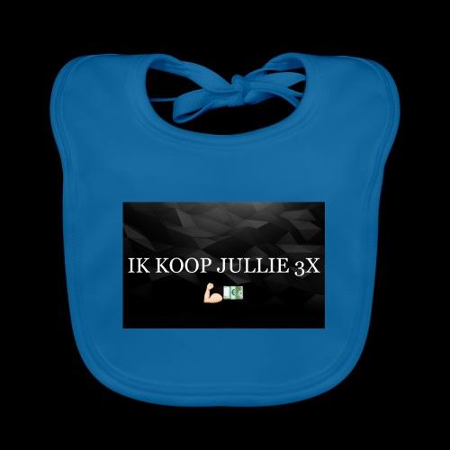 IK KOOP JULLIE 3X - Bio-slabbetje voor baby's