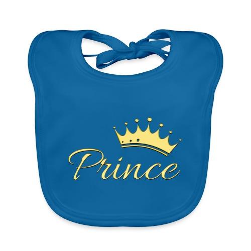 Prince Or -by- T-shirt chic et choc - Bavoir bio Bébé