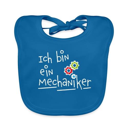 Ich bin ein... Mechaniker - Baby Bio-Lätzchen