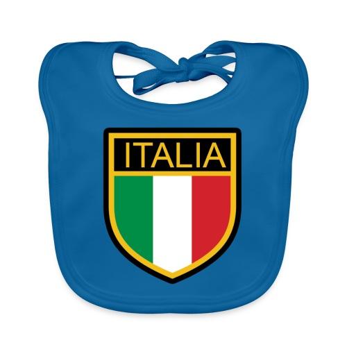 SCUDETTO ITALIA CALCIO - Bavaglino ecologico per neonato