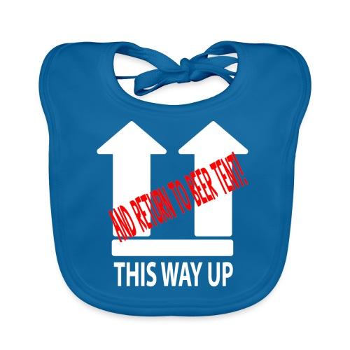 This Way Up - Baby Organic Bib