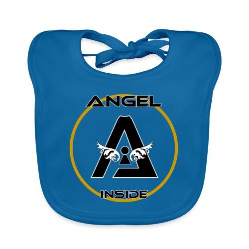 ANGEL INSIDE-01 - Bavaglino ecologico per neonato