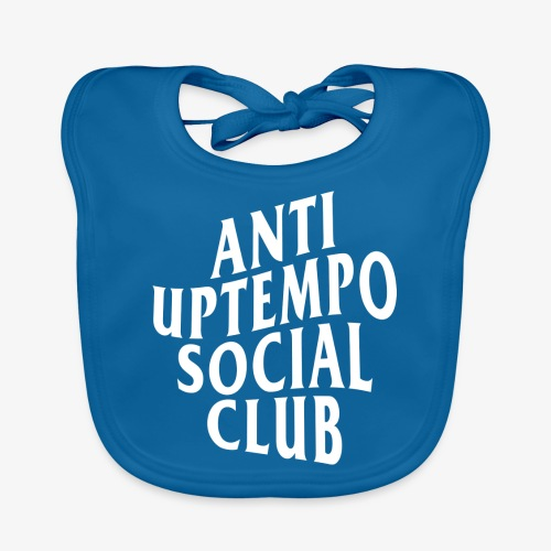 logo anti uptempo social club - Bavoir bio Bébé