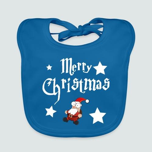 Merry Christmas - Ugly Christmas Sweater - Baby Bio-Lätzchen