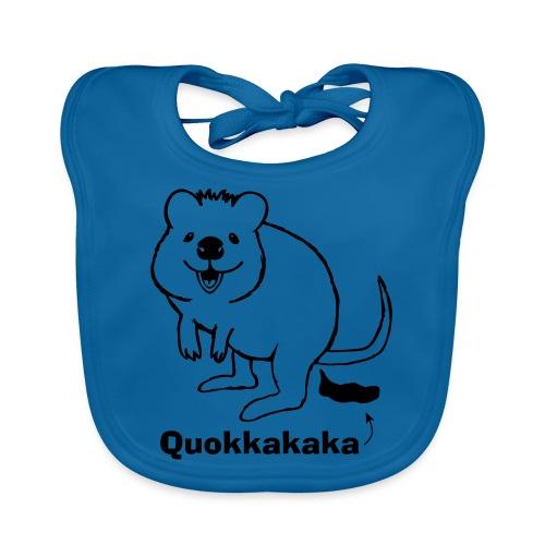 Quokkakaka Quokka Kacka Känguruh Australien - Baby Bio-Lätzchen