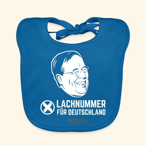 Lachnummer für Deutschland - Baby Bio-Lätzchen
