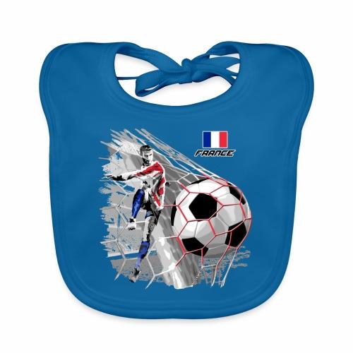 FP22F 03 FRANCE FOOTBALL - Vauvan luomuruokalappu