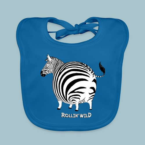 Rollin' Wild - Zebra - Organic Baby Bibs