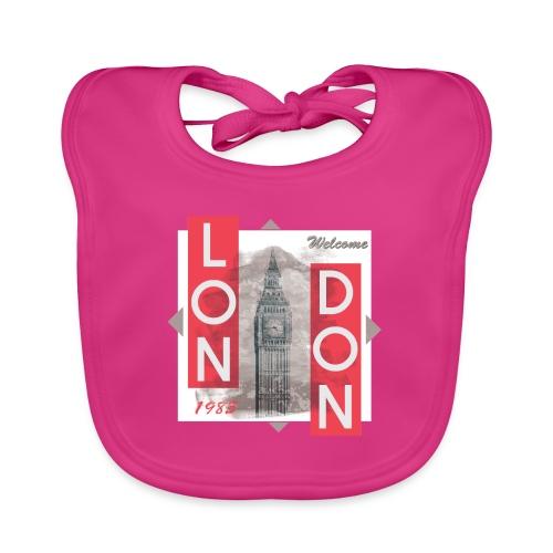 Welcome London - Baby Organic Bib