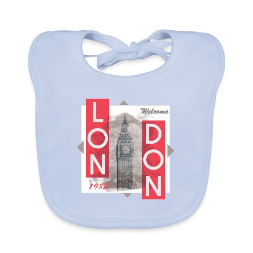 Welcome London - Baby Organic Bib