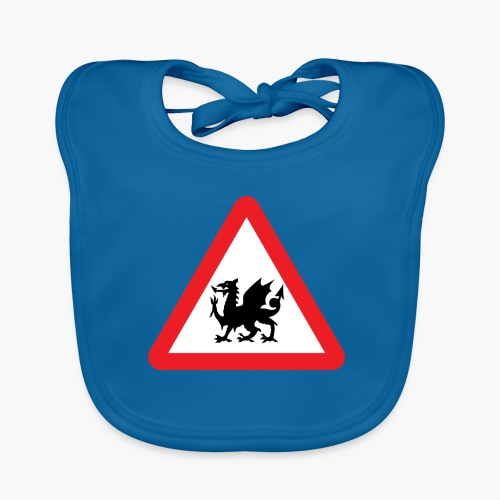 Welsh Dragon - Baby Organic Bib