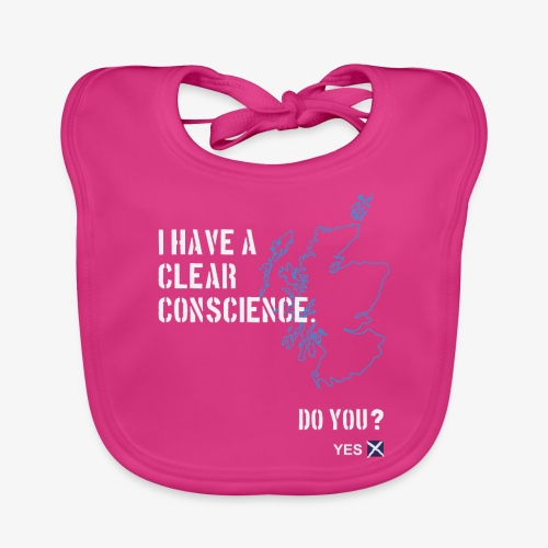 Clear Conscience - Baby Organic Bib