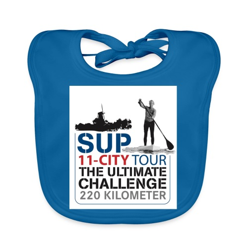 SUP11 City Tour Logo Shirt - Baby Organic Bib