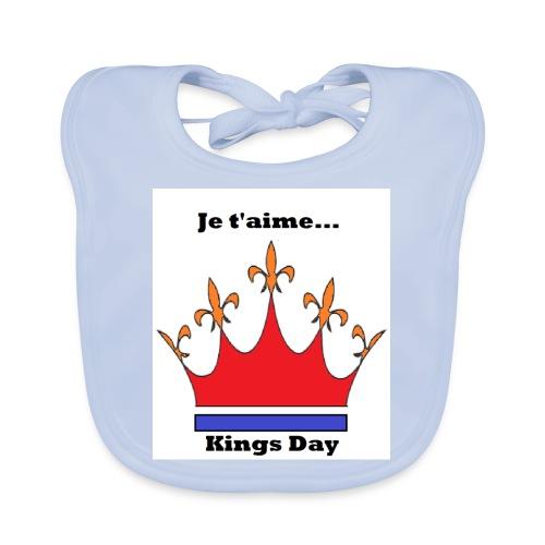 Je taime Kings Day (Je suis...) - Bio-slabbetje voor baby's