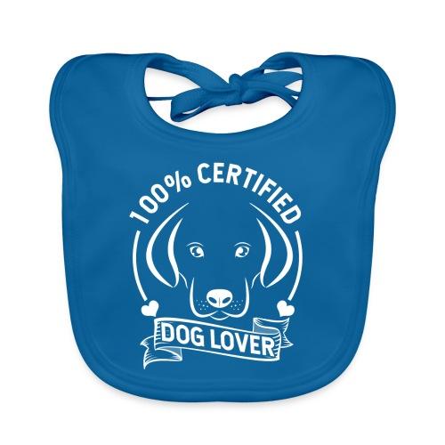Zertifizierter Hundeliebhaber - Baby Bio-Lätzchen