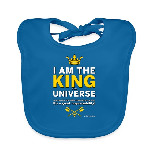 Royal King T-shirt - PAN designs - Tees & Gifts - Ekologisk babyhaklapp