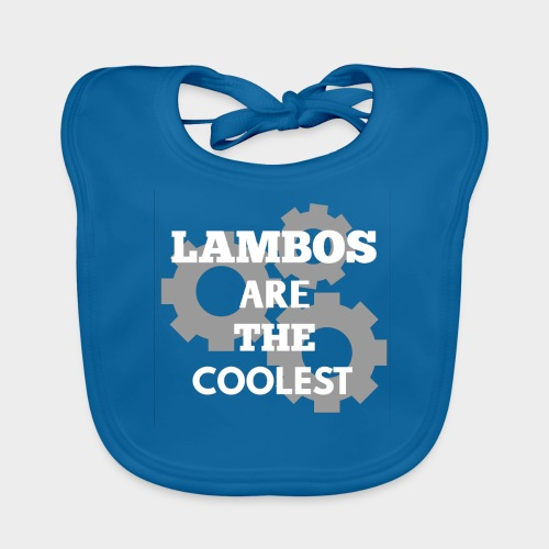 Lambos are the coolest - Organic Baby Bibs