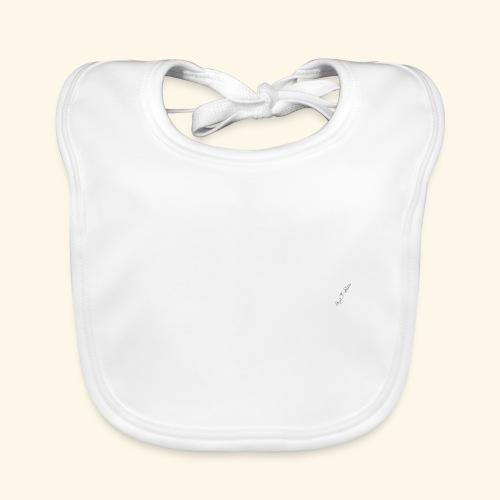 Cheval espagnol (blanc) - Bavoir bio Bébé