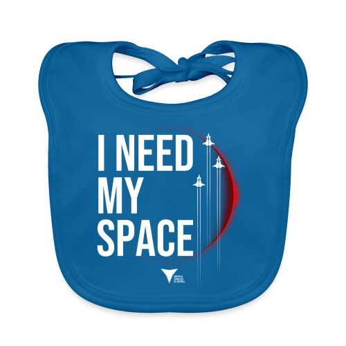 I need my space - Baby Bio-Lätzchen
