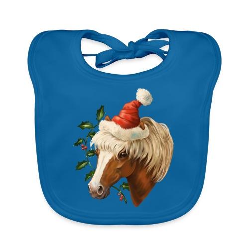 Christmas Pony - Baby Bio-Lätzchen