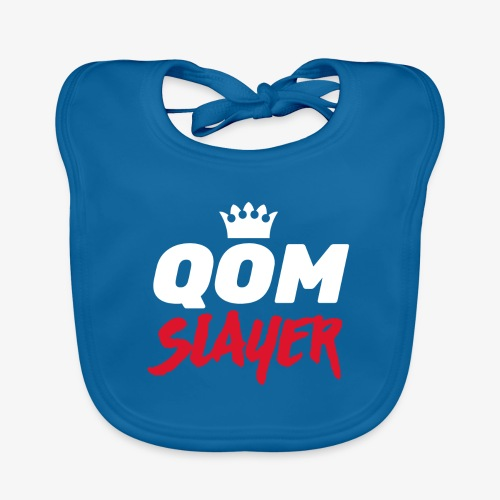 queen of the mountain slayer - Baby Organic Bib