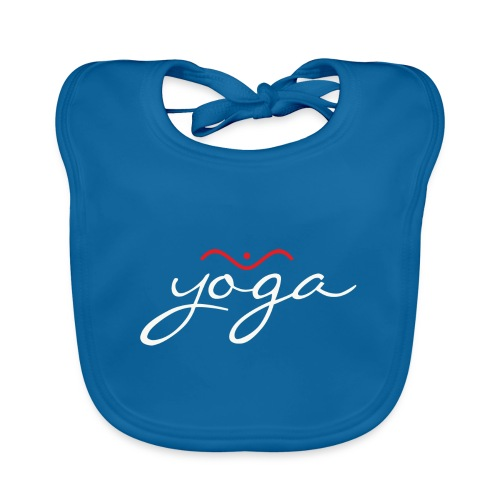 Yoga Balancing Typography And Emblem 2 - Baby Bio-Lätzchen