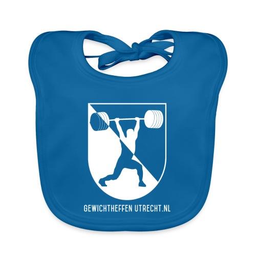 Gewichtheffen Utrecht Logo Trui - Bio-slabbetje voor baby's