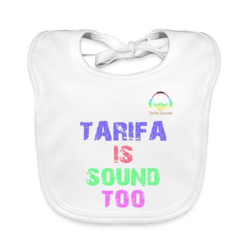 Tarifa tambiés es sonido - Babero ecológico bebé