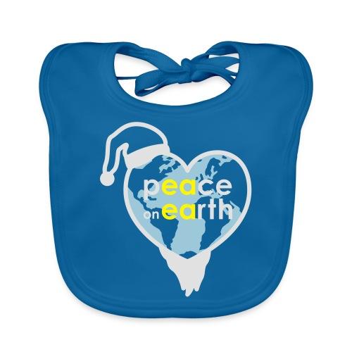 MR Peace on Earth - Bio-slabbetje voor baby's
