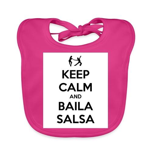 keep-calm-and-baila-salsa-41 - Bavaglino ecologico per neonato