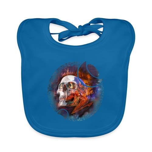 skull - Bavoir bio Bébé