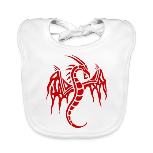 dragon chinois - Bavoir bio Bébé