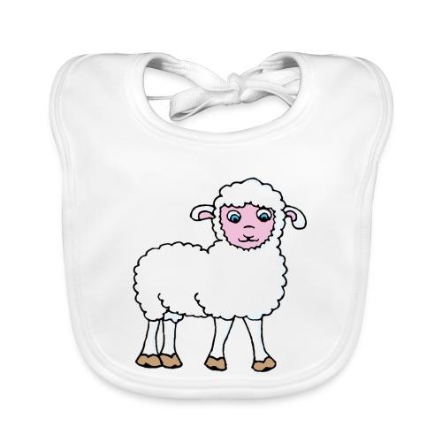 Minos le petit agneau - Bavoir bio Bébé