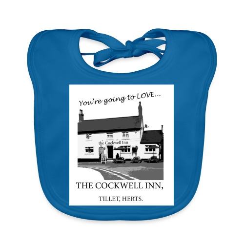 The Cockwell Inn - Baby Organic Bib