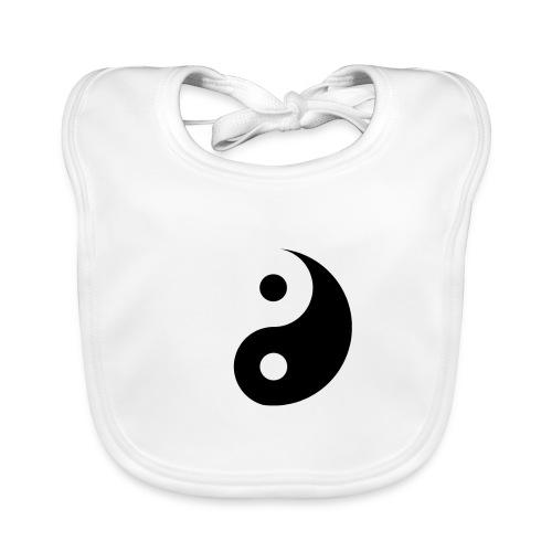 YIN YANG WATER - Baby Bio-Lätzchen