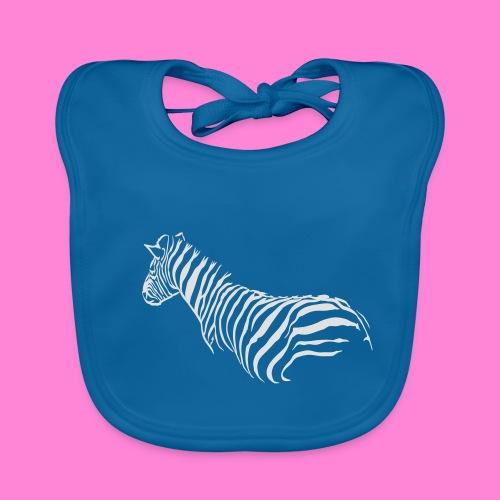 zebra1 - Bio-slabbetje voor baby's