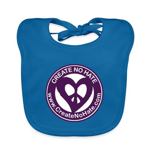CreateNoHate Logo - Baby Organic Bib