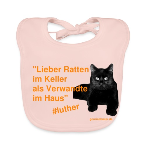 Luther-Zitat - Baby Bio-Lätzchen
