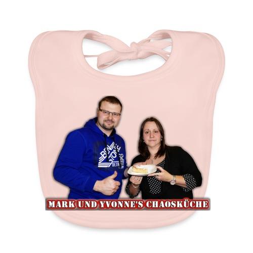 Mark und Yvonne Chaoskueche Logo - Baby Bio-Lätzchen