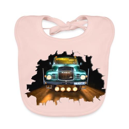 Camión clásico - Classic Truck - Babero ecológico bebé