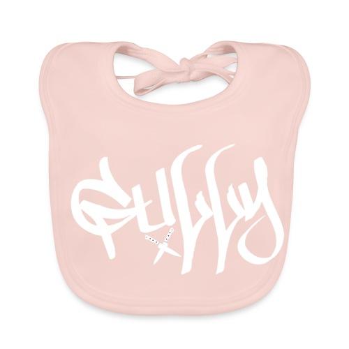 Gully White X Knifes - Baby Organic Bib