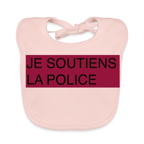 SOUTIENS POLICE - Bavoir bio Bébé