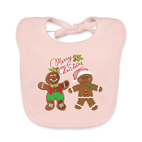 Frall&Tom XMAS kids colection - Baby Organic Bib
