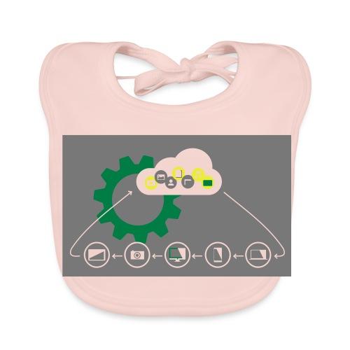 Pilvilaskenta - Vauvan ruokalappu