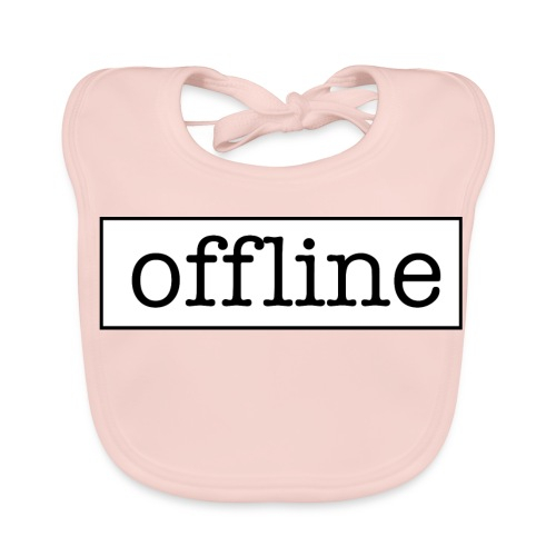 Officially offline - Bio-slabbetje voor baby's