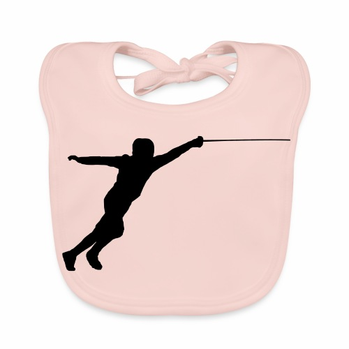Jumping Fencer - Baby Bio-Lätzchen