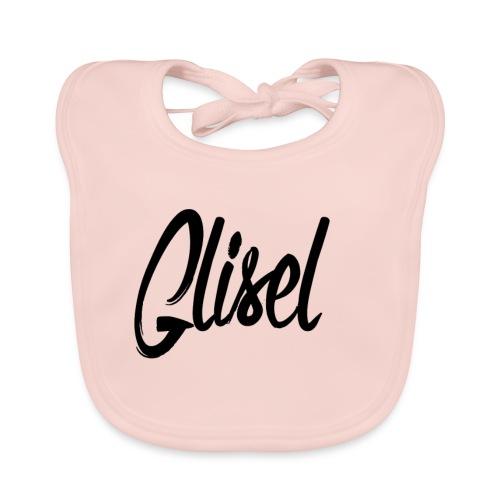 Glisel Logo schwarz transparent - Baby Bio-Lätzchen