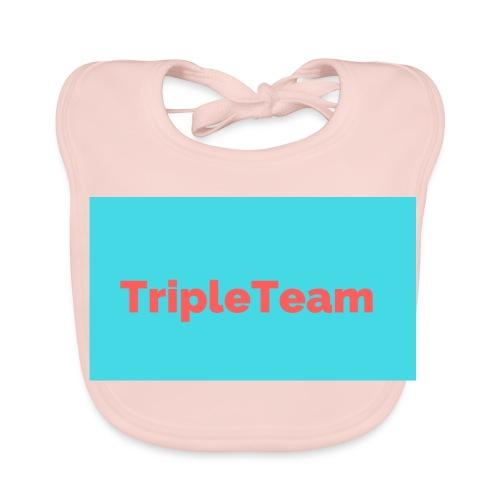 TripleTeam Logo - Bio-slabbetje voor baby's