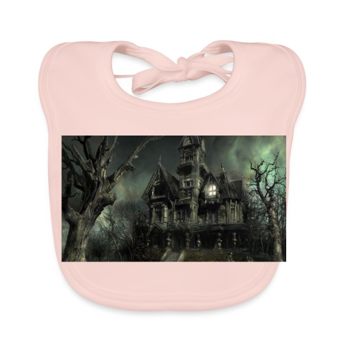 Casa embrujada - Babero ecológico bebé